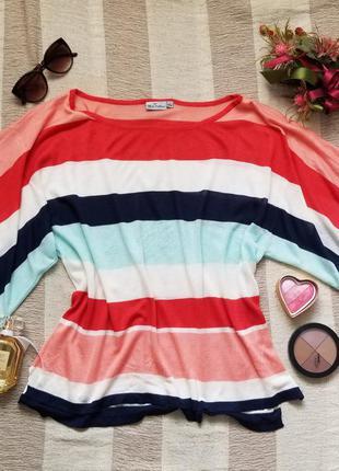 Блуза смугаста, блузка, футболка