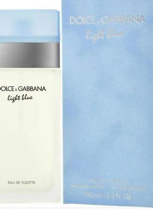 Dolce&gabbana light blue 50мл
