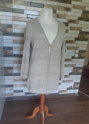 Кардиган кофта свитер escada шерсть винтаж