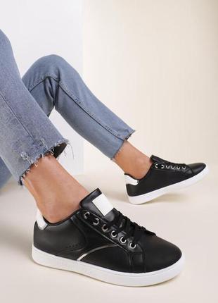 Чёрные кеды , модные и стильные 🖤осень 2021🔝