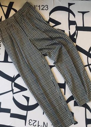 Демократичные ,свободные брюки в клетку от gerry  weber/германия ❤️