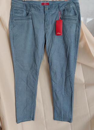 Джинсы брюки голубые s.oliver