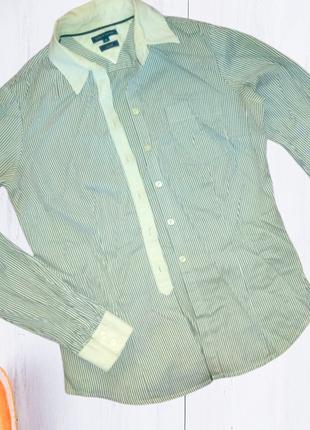 Рубашка женская длинный рукав хлопок размер 42