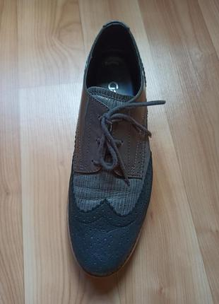 Туфли броги gabor