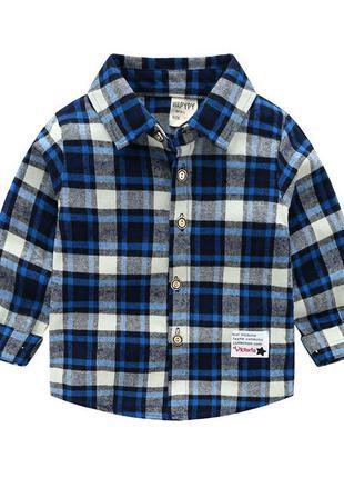 Рубашка детская фланель