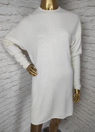 Платье джемпер из кашемира р.8 (s)