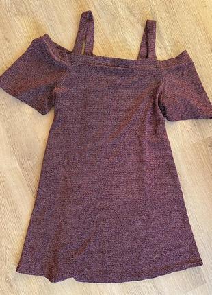 Платье люрикс