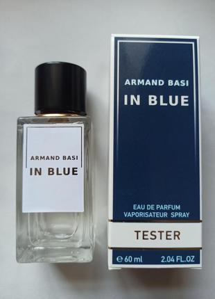 Тестер парфюм оаэ in blue (мужской)