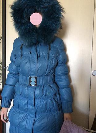 Пуховик зимний тёплый