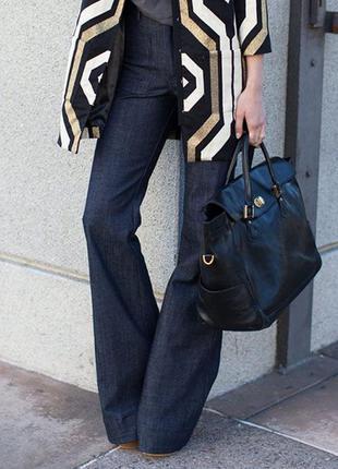 Шикарные джинсы клеш с высокой талией next