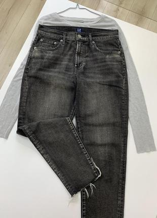 Штаны джинсы gap высокая посадка
