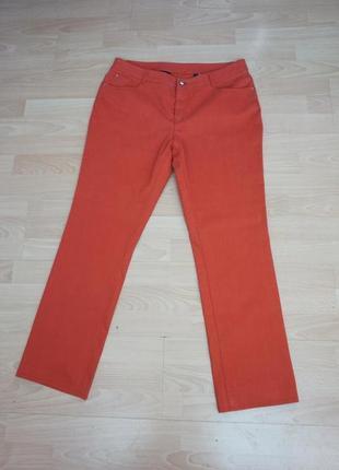 Классные рыжие джинсы