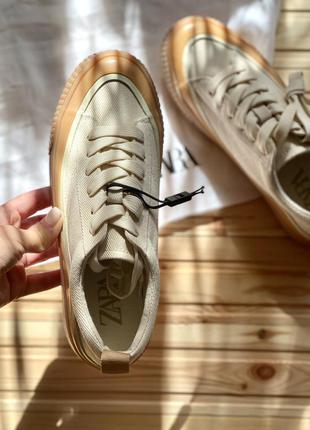 Zara кеды сникерсы кроссовки