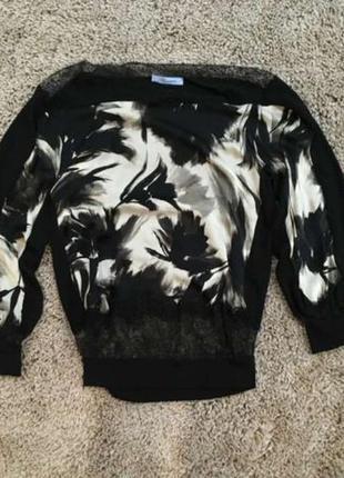 Женская кофточка кофта свитер из шерсти blumarine