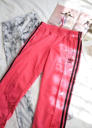 Розовые штаны adidas original 36 s  размер