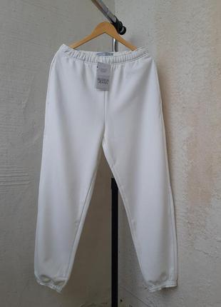 Спортивные штаны джоггеры на высокой посадке l-xl