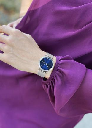 Серебренные часы