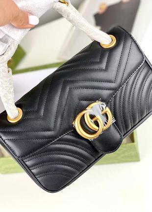 Женская сумка в стиле гуччи