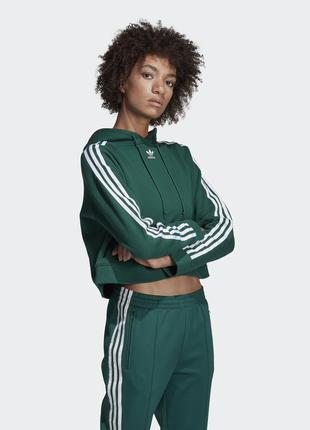 Женская худи толстовка с капюшоном adidas адидас. оригинал