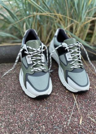 Мужские кроссовки из премиальной кожи ultera, кожанные кроссовки