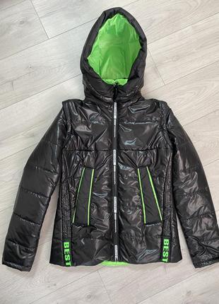 Курточка демисезонная, осенняя куртка, женская куртка,жилетка и куртка