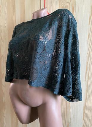 Накидка кофта блуза