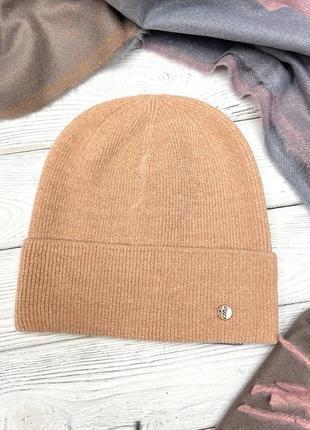 Осеняя женская шапка 😍
