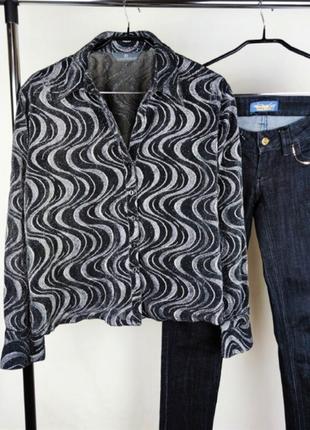 Красивая легкая брендовая блуза essentials большой размер