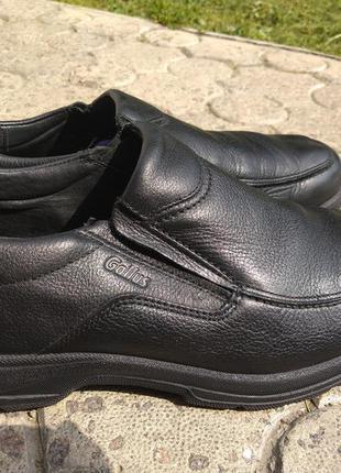 Кожаные туфли на широкую стопу  gallus