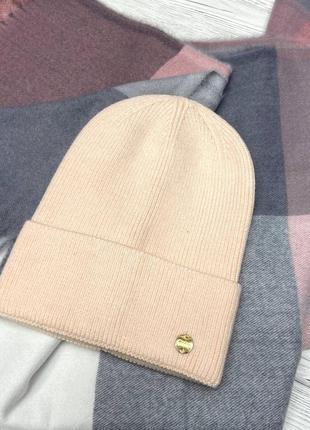 Женская осеняя шапка 🍂