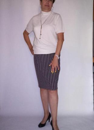 Трикотажная юбка. tu