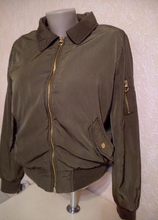 Куртка бомбер, р.xs-s