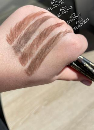 Пудровый карандаш для бровей unice la femme 1,8г