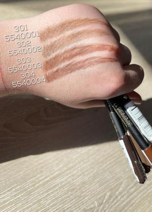 Тренд-карандаш для бровей unice la femme 1,4г