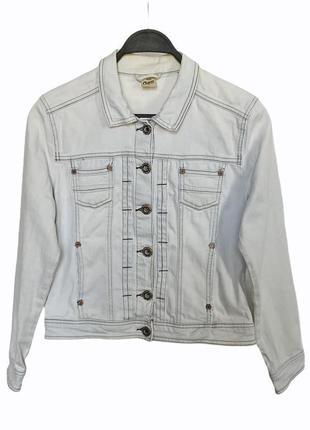 Джинсовка (джинсовка куртка) bershka светло-голубая