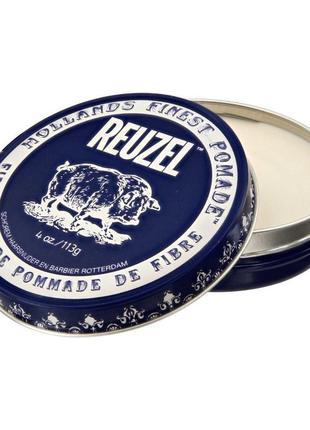 Помада для волос reuzel fiber dark blue 113 г
