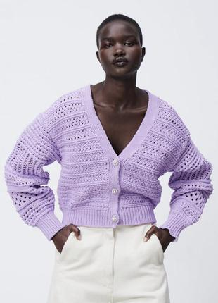 Кардиган свитер zara новый женский осень зима