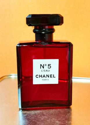 N 5 l'eau red edition  женская  туалетная вода 100 мл