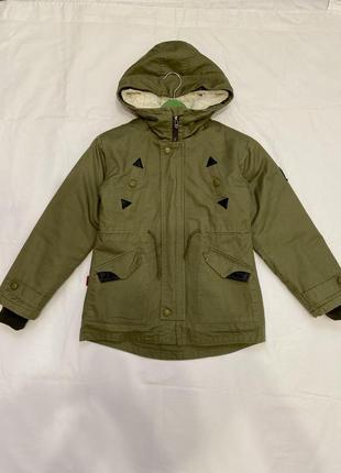 Куртка парка весна-осень демисезонная на подстёжке