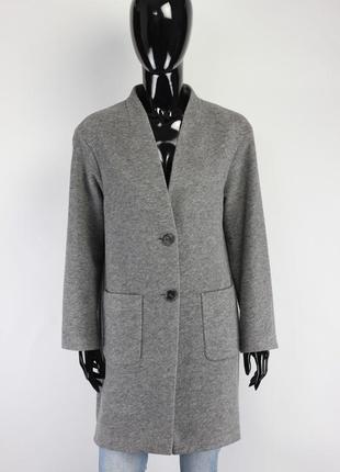 Фирменное шерстяное пальто