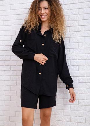 Костюм женский рубаха + шорты