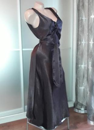Роскошное платье миди