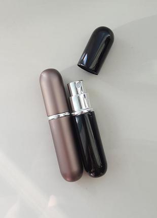 Набор - 2 штуки - атомайзер, флакон для распива парфюмерии, пробник