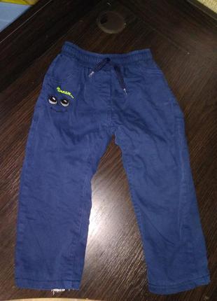 Зимние штаны, джинсы на меху