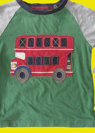 Реглан с автобусом,рост 92-98 см,tu