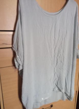 Итальянская блуза ,,летучая мышь'' из трикотажа