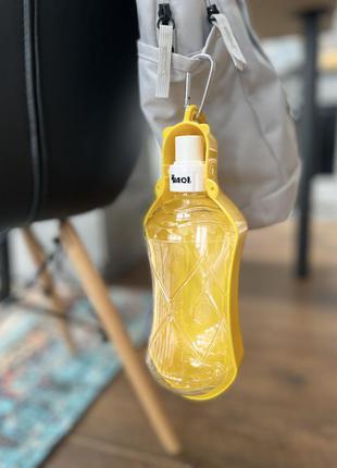 Поїлочка для собак puppy bottle 518мл. жовта