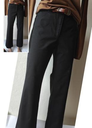Чорні штани.чорные базовые штаны.