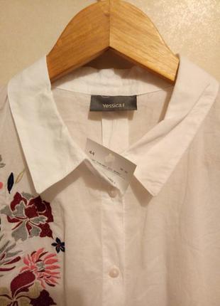 Рубашка yessica. новая с биркой.