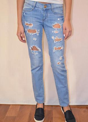 Джинсы бойфренды gloria jeans
